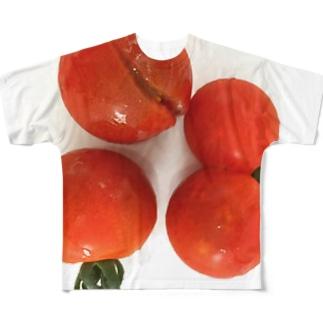 アイラブトマト Full graphic T-shirts