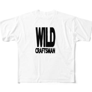 WILD CRAFTSMAN Full graphic T-shirts