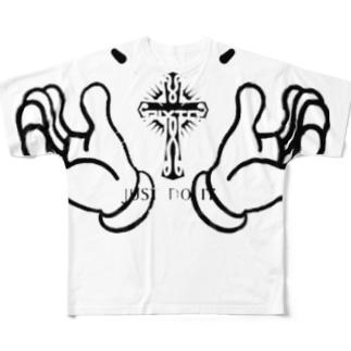 クロス&ハンド Full graphic T-shirts