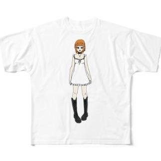 かえで(ワンピース) Full graphic T-shirts