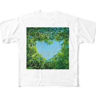 Covers & Colors 2021 ジャケット(シンプル) Full graphic T-shirts