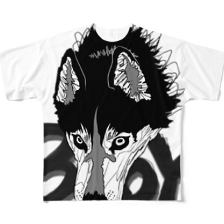 HUSKY BOY. Full graphic T-shirts