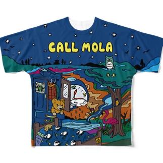 CALL MOLA Full graphic T-shirts