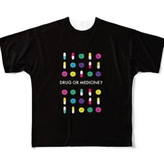 FAKE Full graphic T-shirts