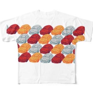 中古車ショップ三軒茶屋 Full graphic T-shirts