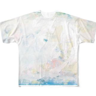 カケラと物語 フルグラフィックTシャツ