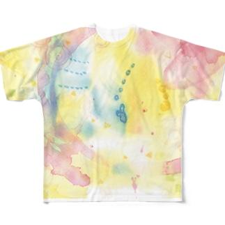 おさないカケラ フルグラフィックTシャツ