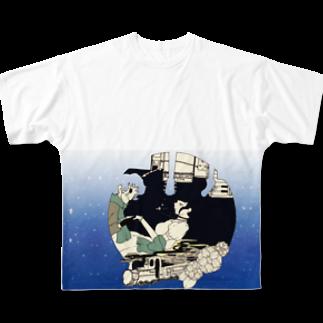mechifura(イラストレーター)の道化師2 Full graphic T-shirts