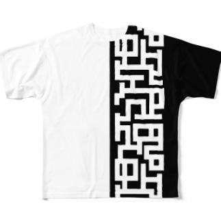 Labyrinth Full graphic T-shirts