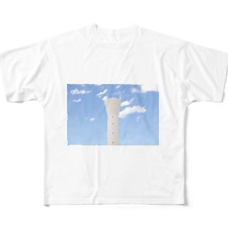 きゅうすいとうー Full graphic T-shirts