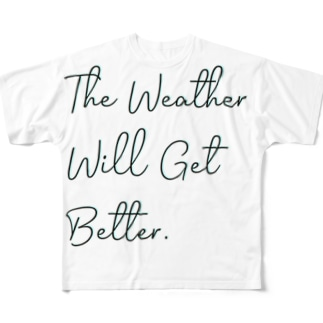 The Weather Full graphic T-shirts