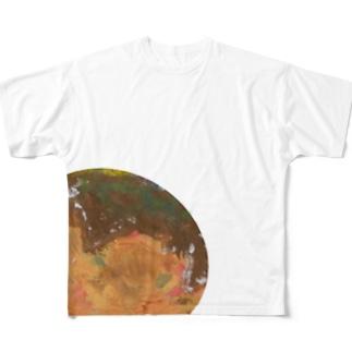 たこやき フルグラフィックTシャツ