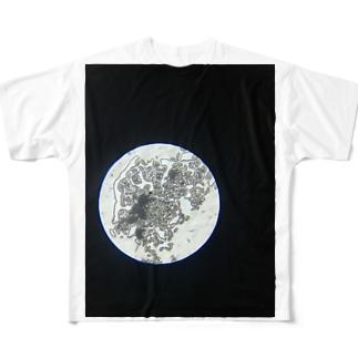 満月 Full graphic T-shirts