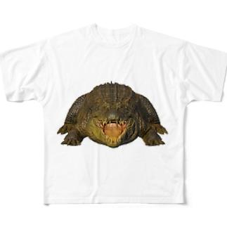 わにシャツ (002) ワニ 鰐 wani Full Graphic T-Shirt