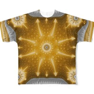 Deep Mandelbrot 005 Full graphic T-shirts