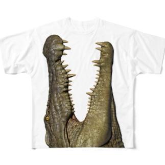 わにシャツ (003) ワニ 鰐 wani Full Graphic T-Shirt