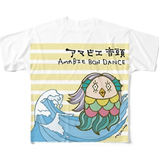 AMABIE_PROJECT Full graphic T-shirts