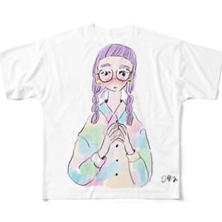 己の力で貴様を Full graphic T-shirts