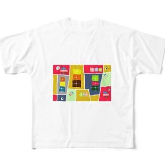 まーマジョのマジョの箱 Full graphic T-shirts