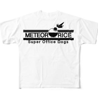 メテオライス ロゴグッズ Full graphic T-shirts