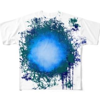 在処  Tシャツ Full graphic T-shirts