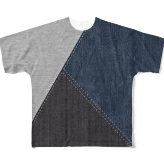 切り替えし-1 Full graphic T-shirts