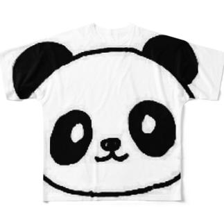 ぱんだー Full graphic T-shirts