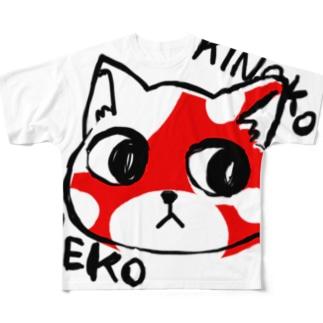 KINOKO NEKO Full graphic T-shirts