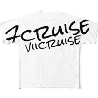 ロゴパーカ Full graphic T-shirts