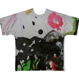 生まれん坊 Full graphic T-shirts