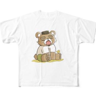 ハングリー Full Graphic T-Shirt