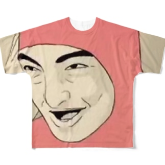 pink guy Full graphic T-shirts