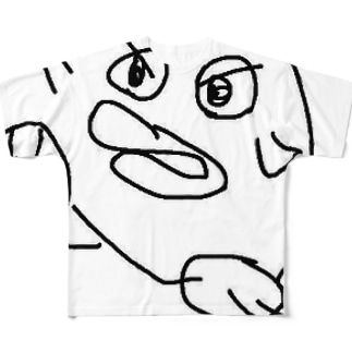 よしだ Full graphic T-shirts