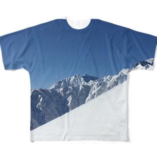 山 Full graphic T-shirts