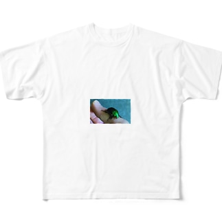 っひゃっほー Full graphic T-shirts