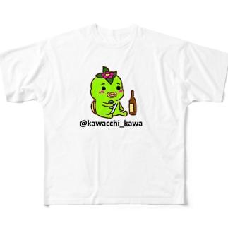 かわっち2017-13 Full Graphic T-Shirt