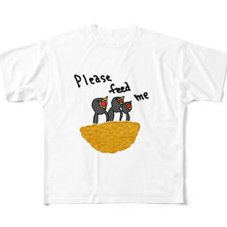 ツバメ「養って」 Full Graphic T-Shirt