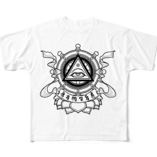 智慧之眼 Full Graphic T-Shirt