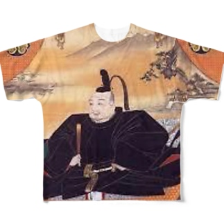 徳川家康 Full graphic T-shirts