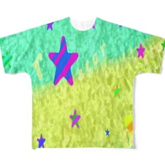 海と星 Full graphic T-shirts