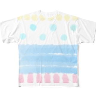 夏の海 Full graphic T-shirts