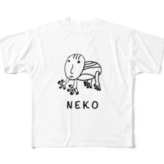 かもしれない Full graphic T-shirts