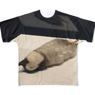 死んだペンギンT Full graphic T-shirts