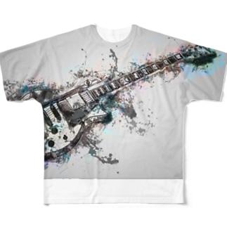 Cool guitar Full Graphic T-Shirt