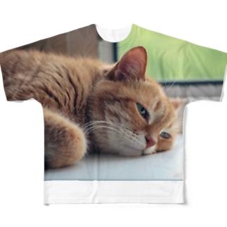 眠い…食べたい…ネム…い Full Graphic T-Shirt