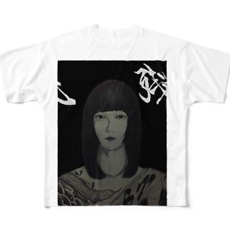 残 Full graphic T-shirts
