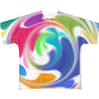 ぼやぁん2 Full graphic T-shirts