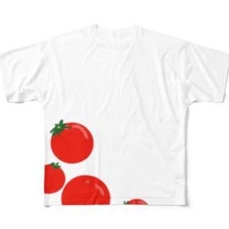 トマト Full graphic T-shirts