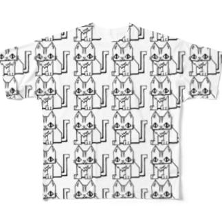 いっぱいカクニャー Full graphic T-shirts