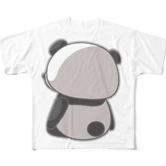 さびしいパンダ All-Over Print T-Shirt